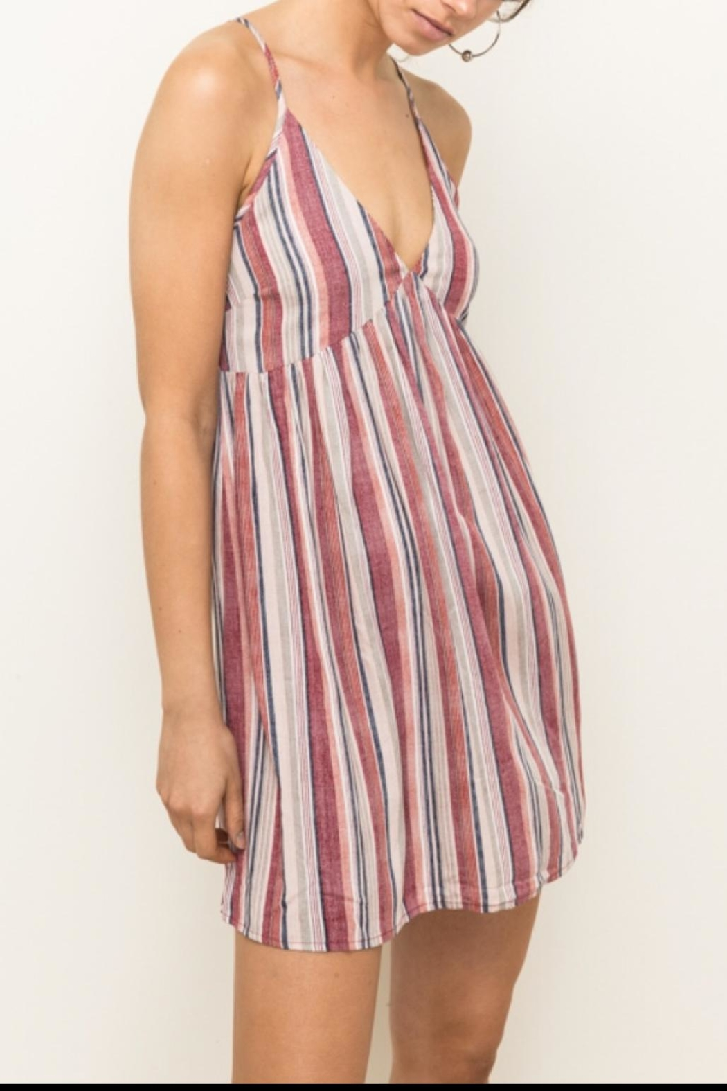 Hem & Thread Tank Dress - Main Image