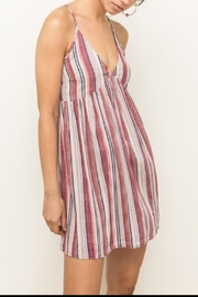 Hem & Thread Tank Dress - Front cropped