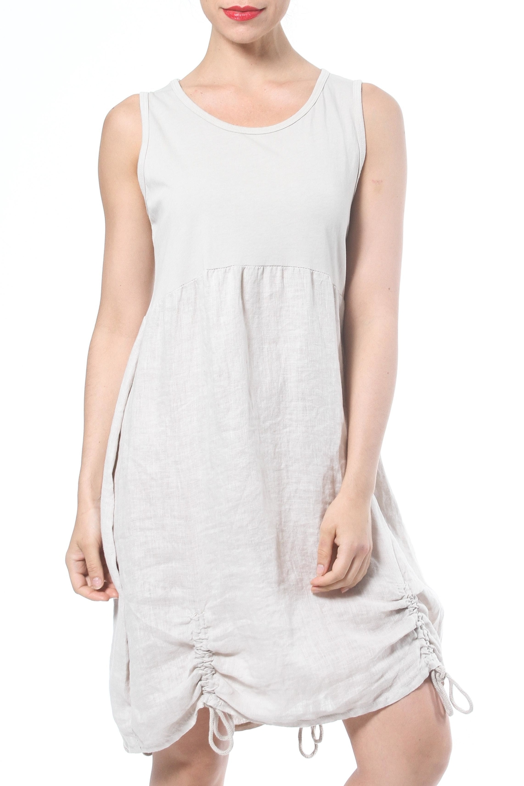 Madonna & Co Tank Dress - Front Cropped Image