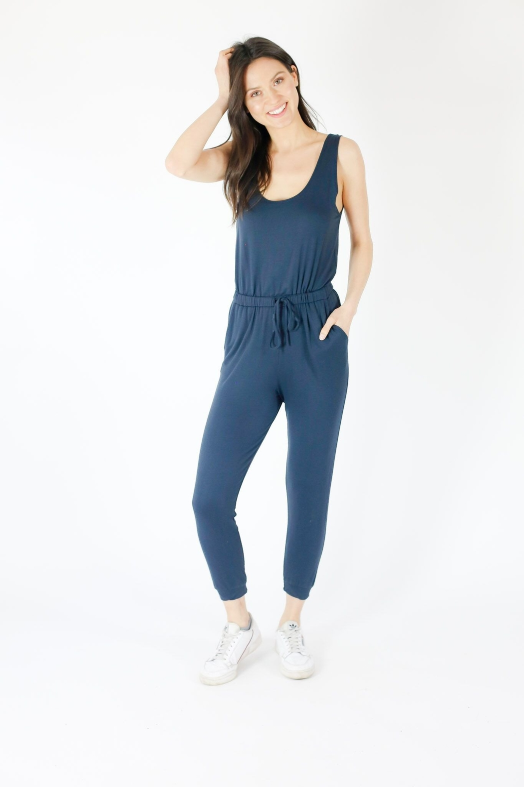 Six Fifty Tank jumpsuit - Side Cropped Image