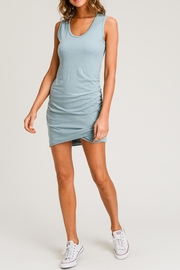 Wasabi + Mint Tank Ruched Dress - Product Mini Image