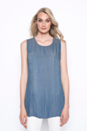 Picadilly Tank W/ Button Details - Front cropped