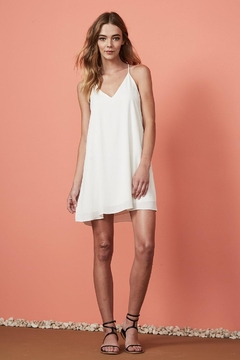 Three Eighty Two Tanner Slip Minidress - Alternate List Image