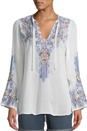 Johnny Was Tanya Embroidered Blouse - Product Mini Image