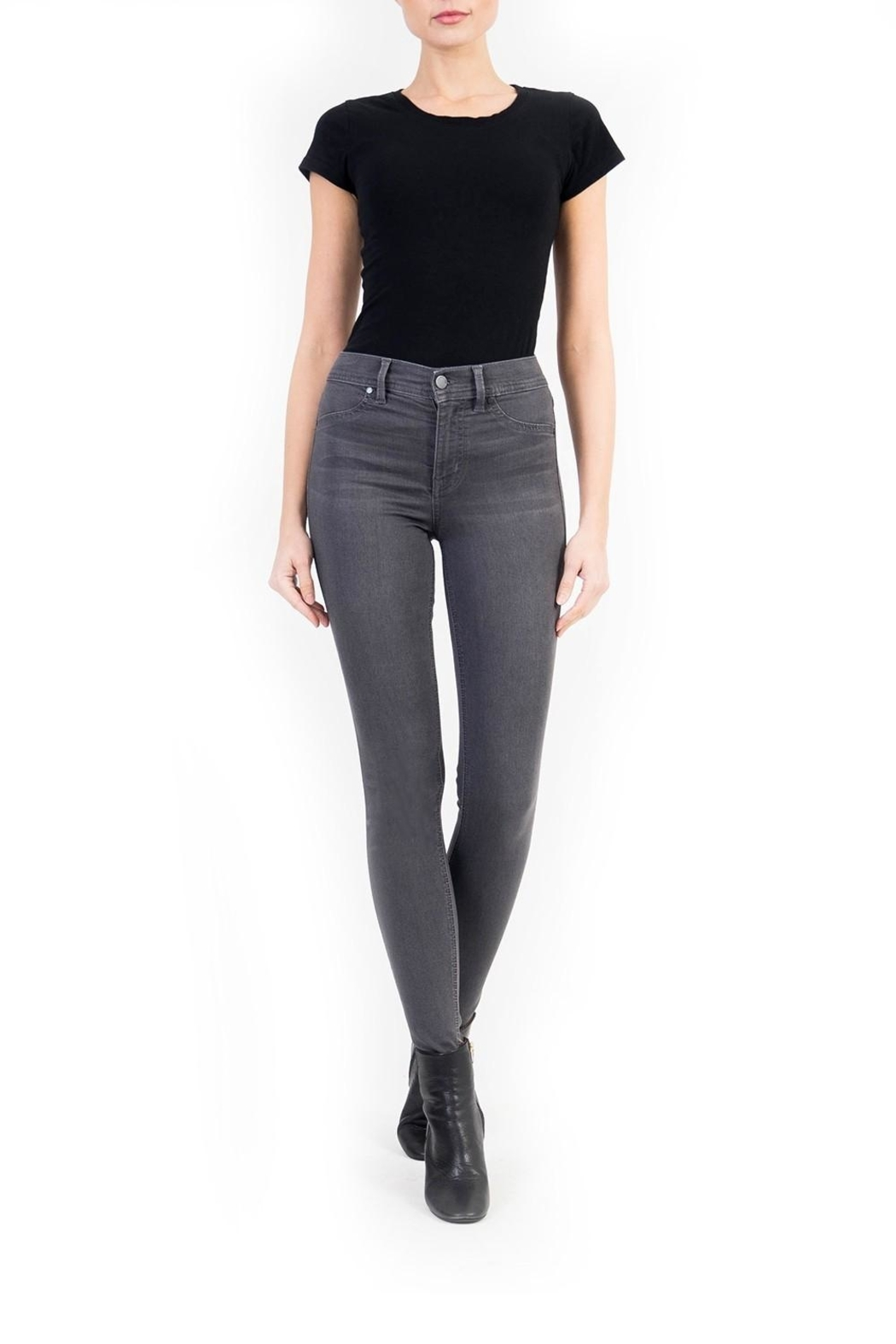 Level 99 Tanya High Skinny - Front Cropped Image