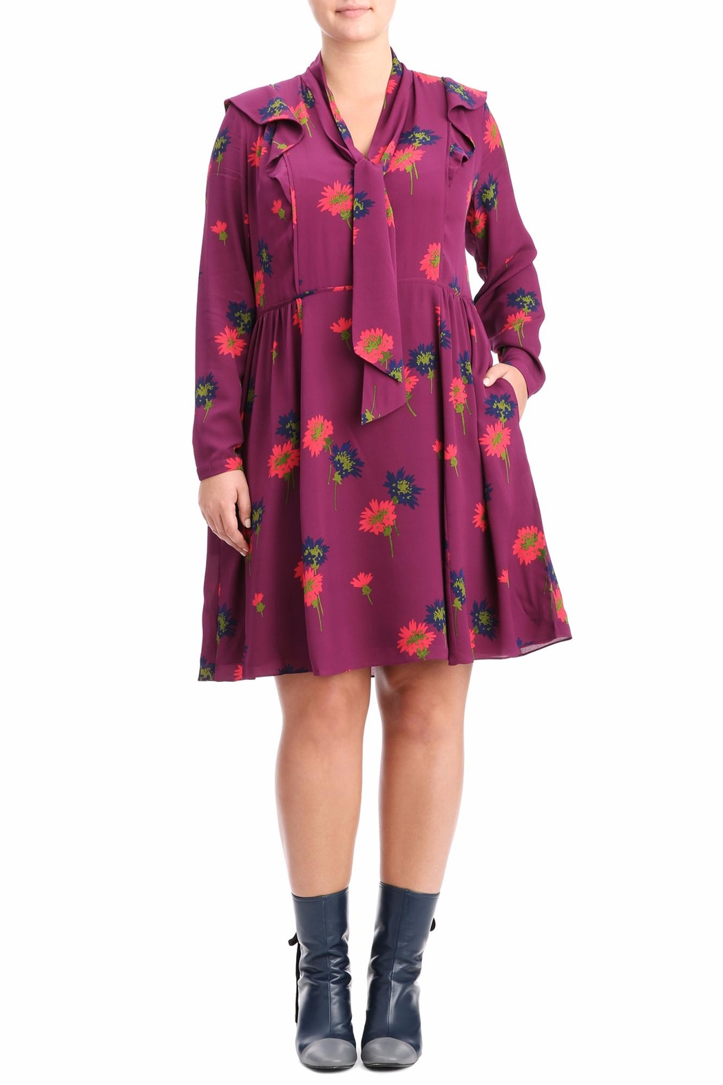 Tanya Taylor Aubree Silk Dress - Main Image
