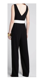 Tanya Taylor Jetta Two-Toned Jumpsuit - Front full body