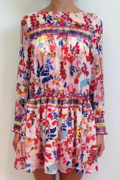 Tanya Taylor Silk Floral Dress - Product List Image