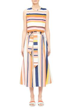 Tanya Taylor Striped Crop Top - Product List Image