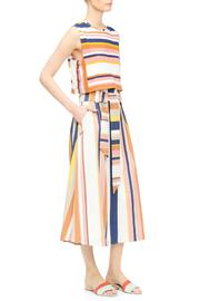 Tanya Taylor Striped Crop Top - Front full body