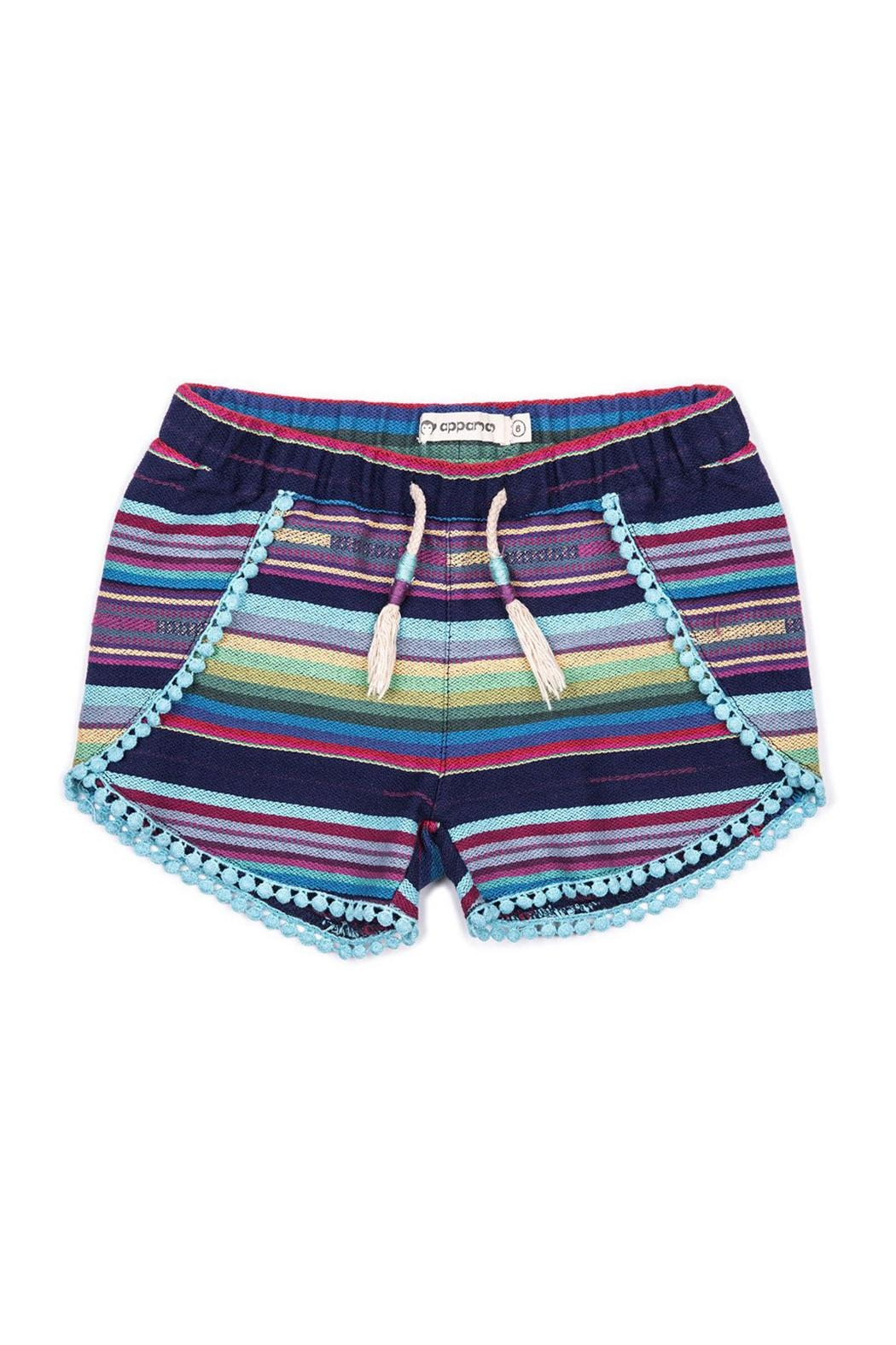 Appaman Tao Striped Shorts - Main Image