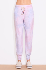 Sundry Tie Dye Tapered Sweatpant - Front cropped