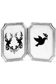 Brighton SilverTapestry Double Frame - Product Mini Image