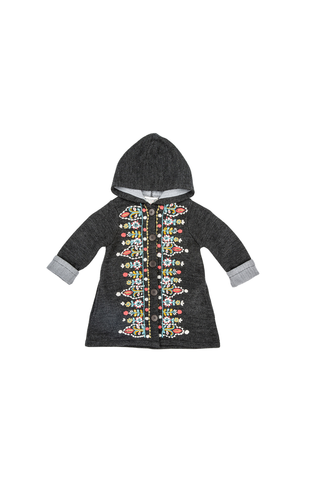 Mimi and Maggie Tapestry Embroidered Coat - Main Image