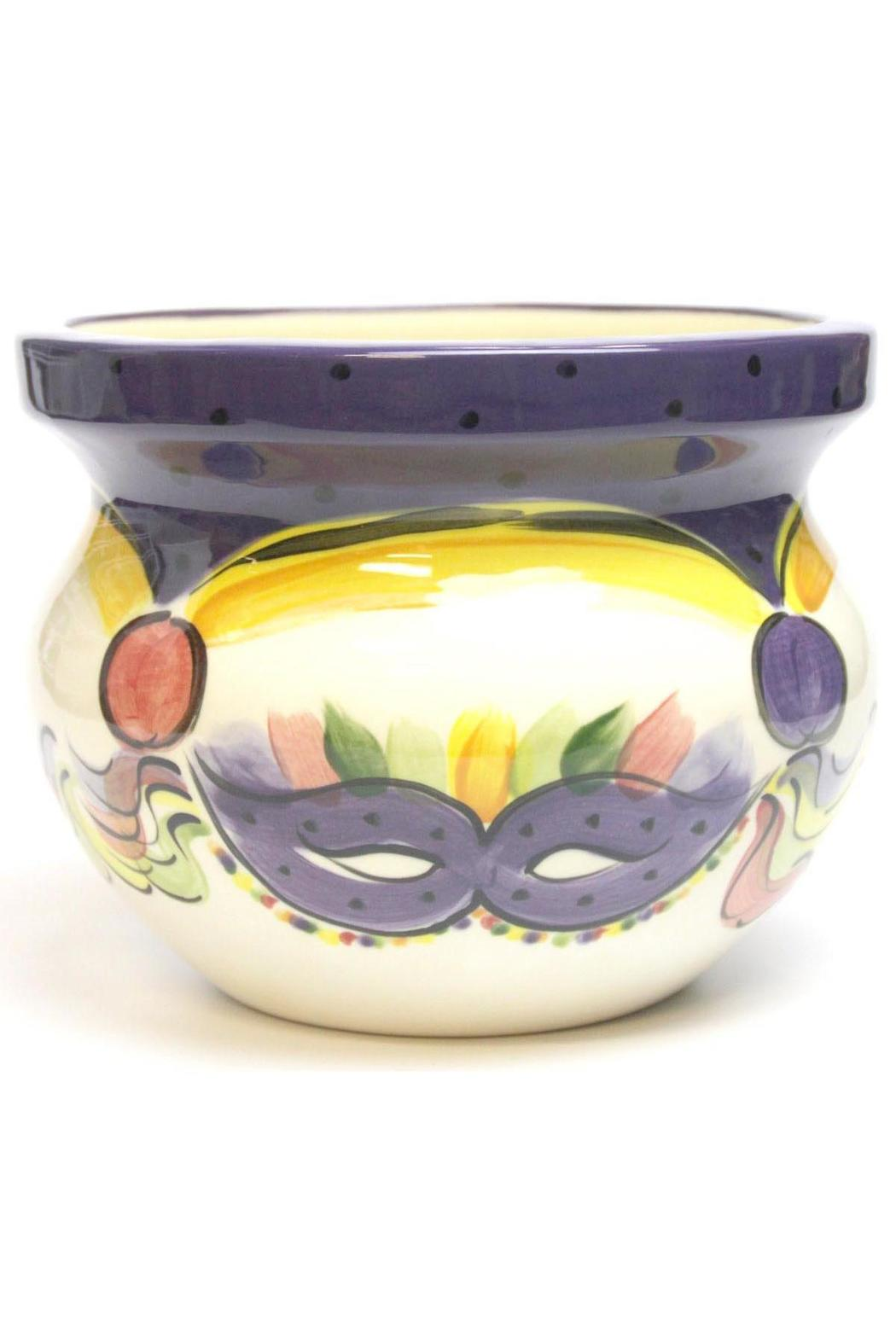 Tara Collections Mardi-Gras Mask Tureen - Main Image