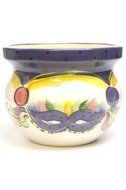 Tara Collections Mardi-Gras Mask Tureen - Front full body