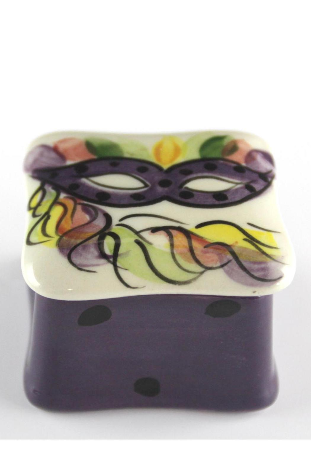 Tara Collections Mask Trinket Box - Front Full Image
