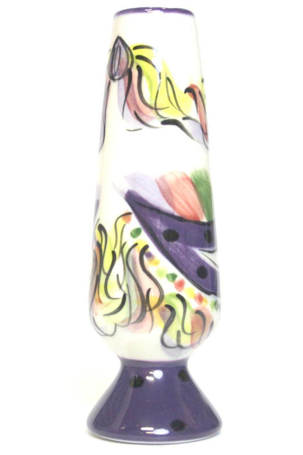 Tara Collections Vase Mardi-Gras Mask - Front Full Image