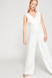 Tara Jarmon Ecru White Jumpsuit - Product Mini Image