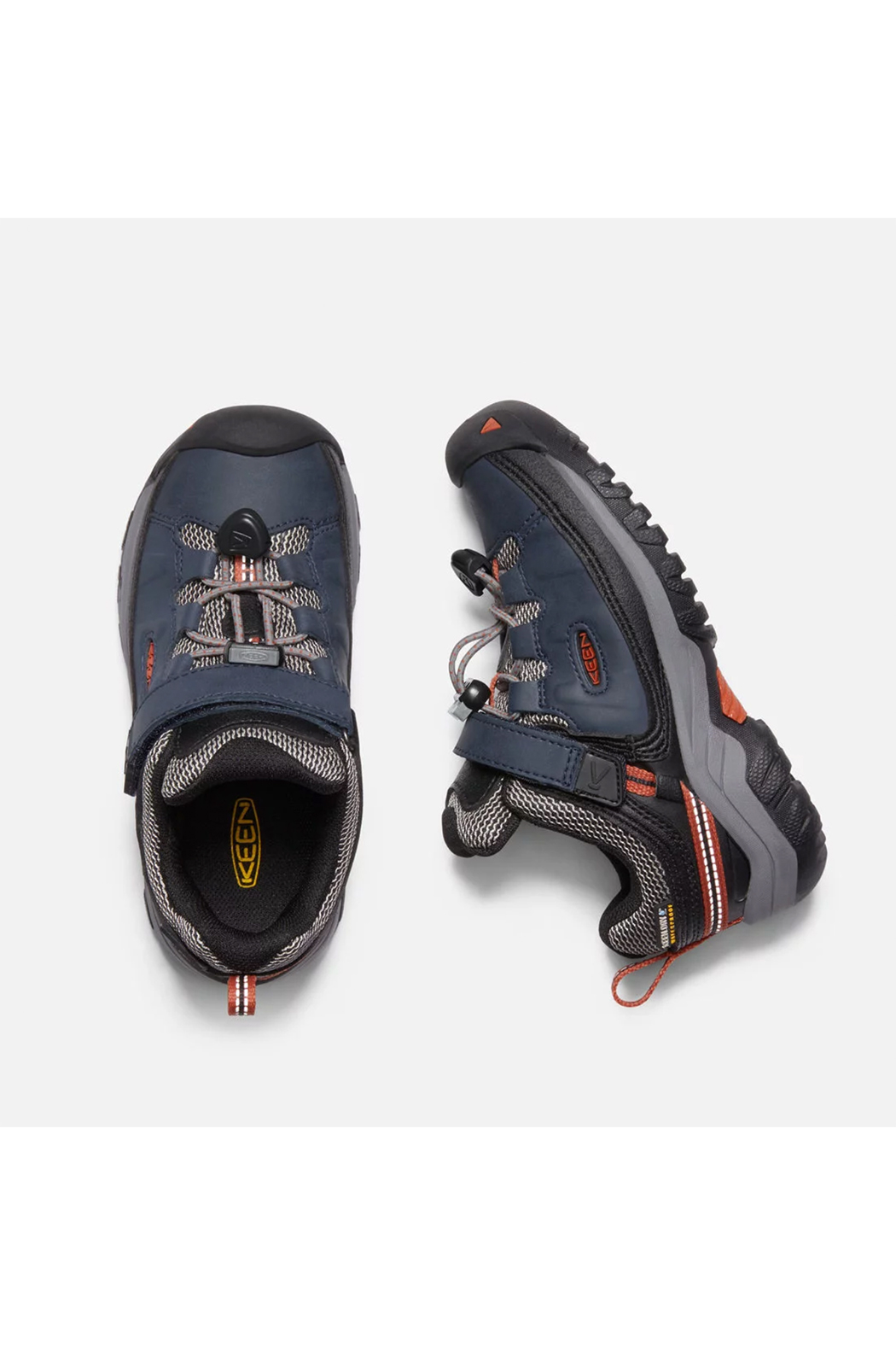Keen Targhee Low Waterproof Child - Side Cropped Image