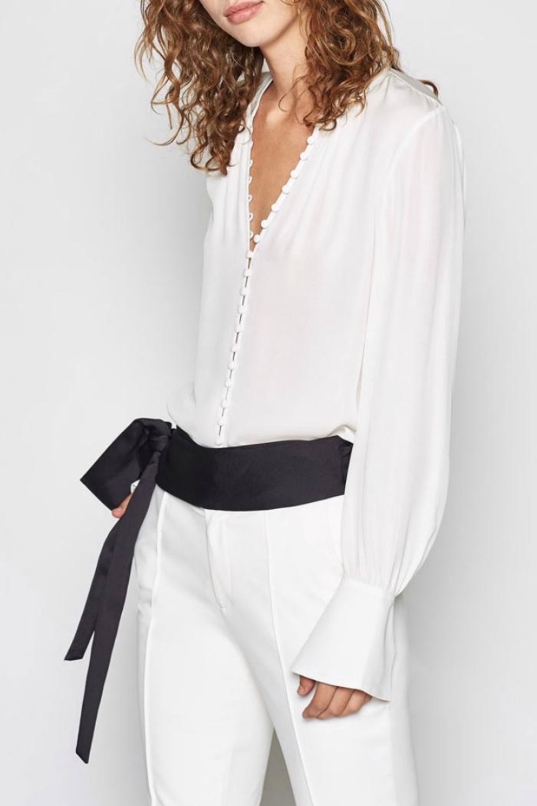 Joie Tariana Blouse - Front Cropped Image