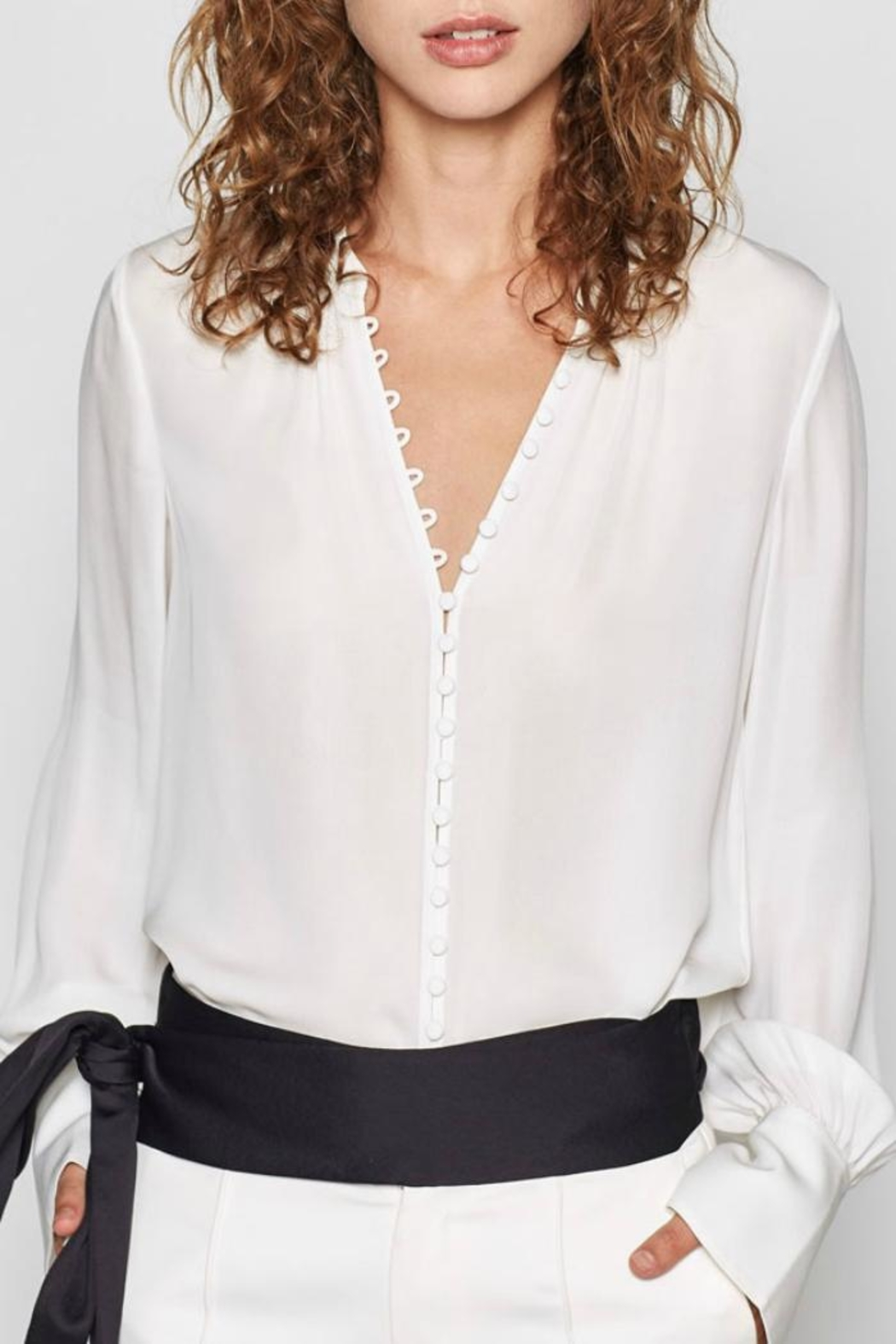 Joie Tariana Blouse - Back Cropped Image
