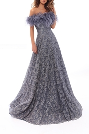 Tarik Ediz Lace Moons Gown - Product Mini Image