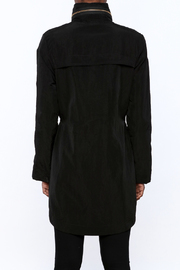 Tart Collections Black Long Jacket - Back cropped