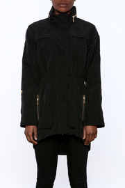 Tart Collections Black Long Jacket - Side cropped