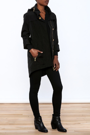 Tart Collections Black Long Jacket - Front full body