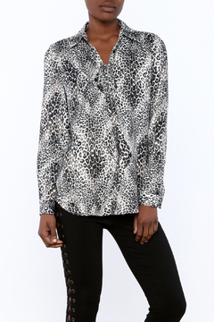 Shoptiques Product: Leopard Overlay Top
