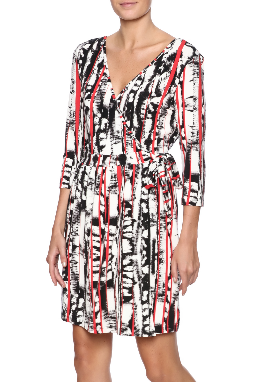 Tart Collections Printed Wrap Dress - Main Image