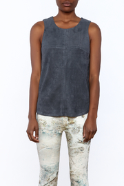 Tart Collections Grey Sleeveless Top - Side cropped