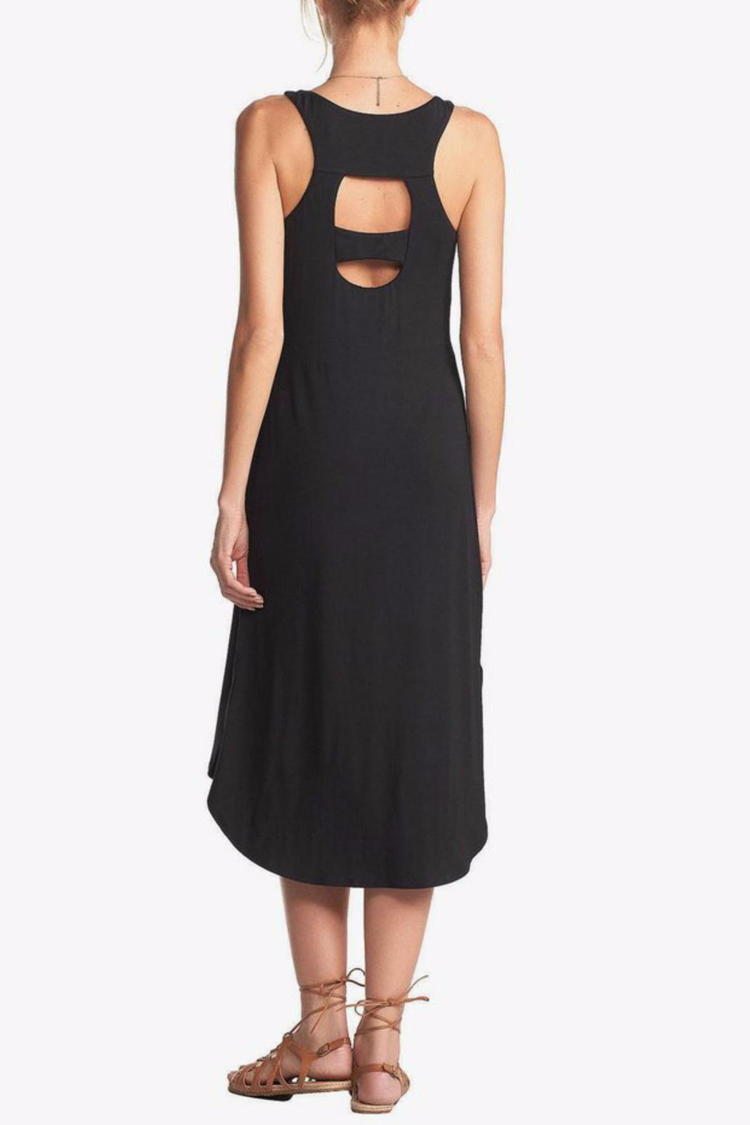 Tart Collections Agatha Midi Dress - Back Cropped Image