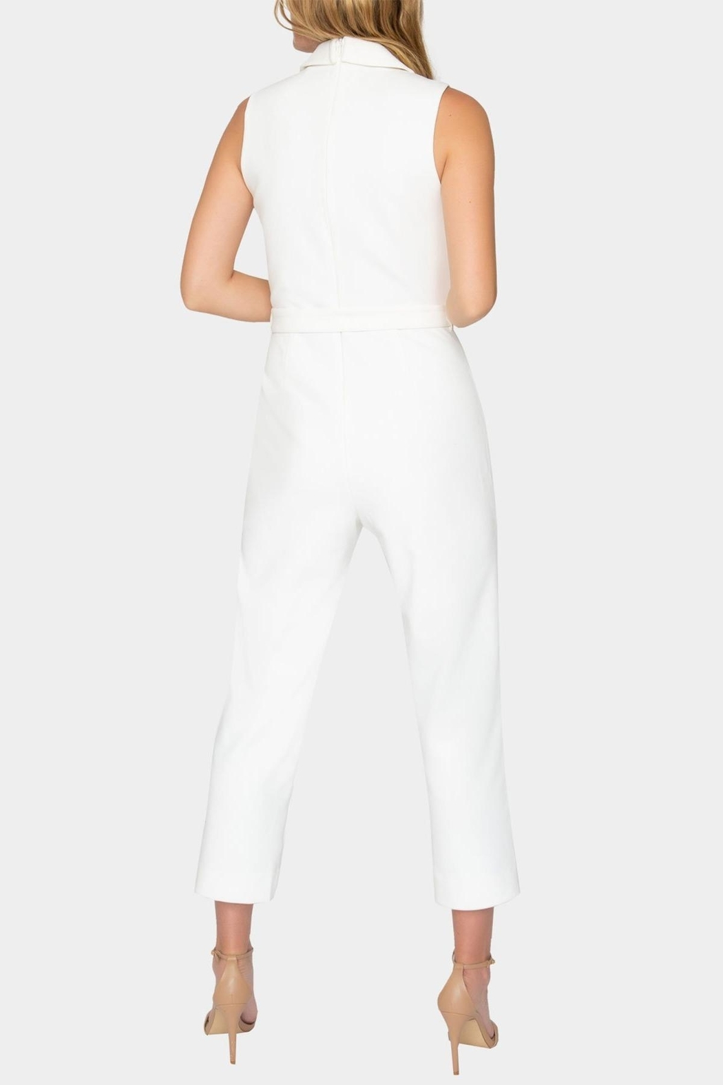 Tart Collections Belted Jumpsuit - Side Cropped Image