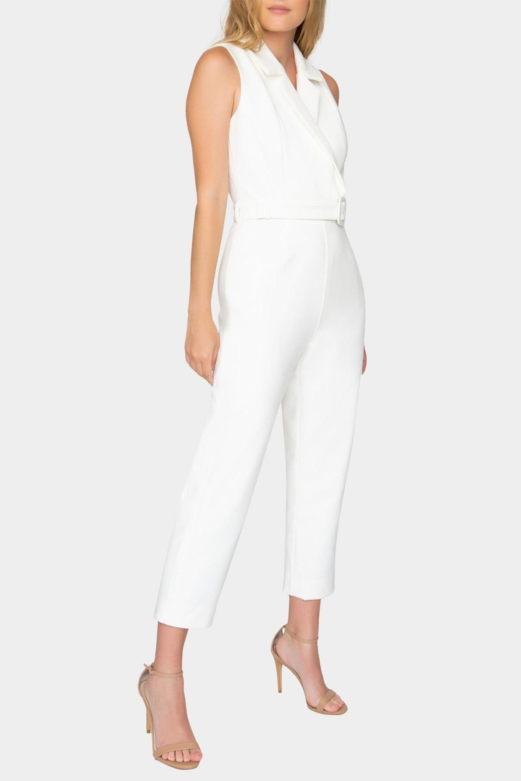 Tart Collections Belted Jumpsuit - Front Full Image