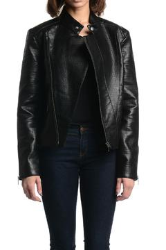 Tart Collections Black Leather Jacket - Product List Image