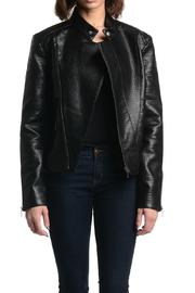 Tart Collections Black Leather Jacket - Product Mini Image
