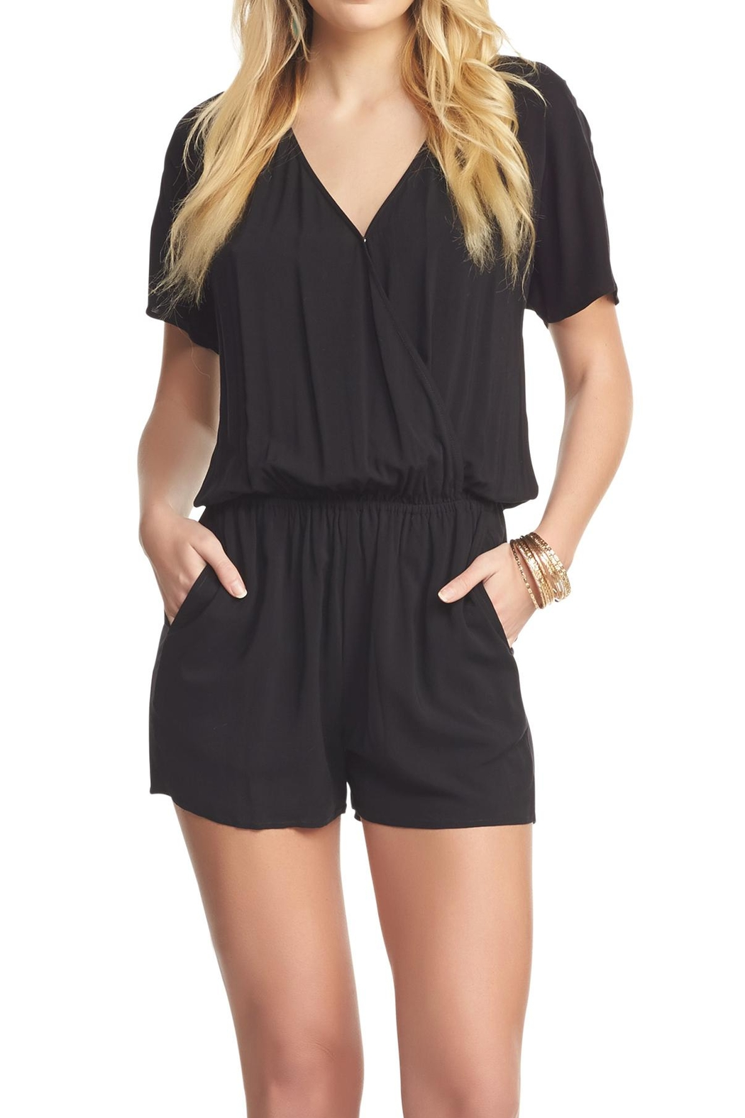 Tart Collections Black Romper - Main Image