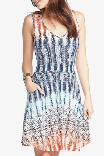 Tart Collections Blanche Flare Dress - Main Image