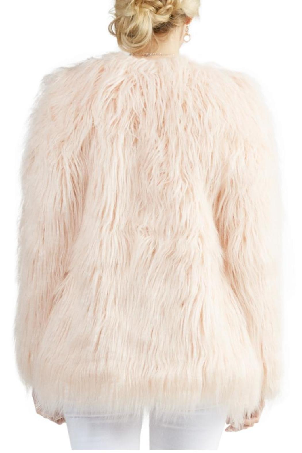Tart Collections Blush Faux Fur - Side Cropped Image