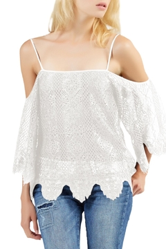 Tart Collections Cold Shoulder Blouse - Product List Image