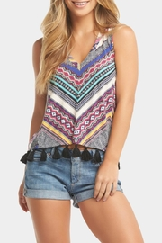 Tart Collections Color Tassel Tank - Front cropped