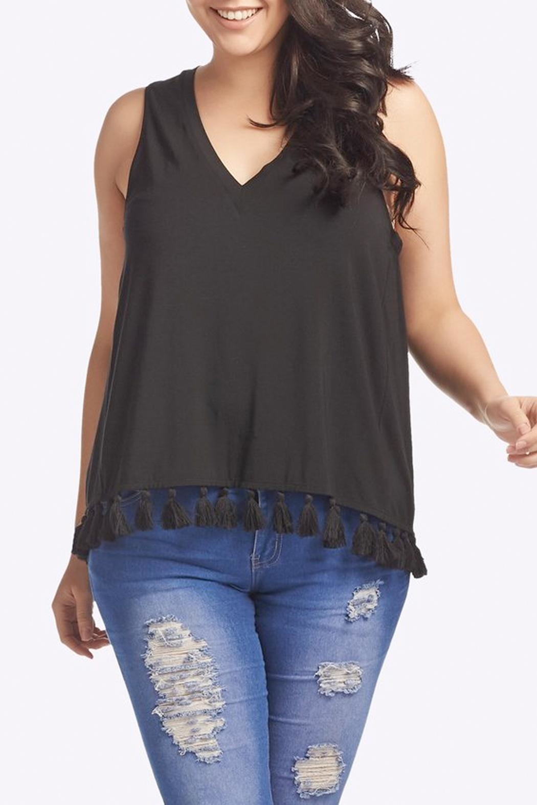 Tart Collections Emory Fringe Top - Main Image