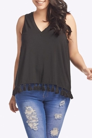 Tart Collections Emory Fringe Top - Front cropped