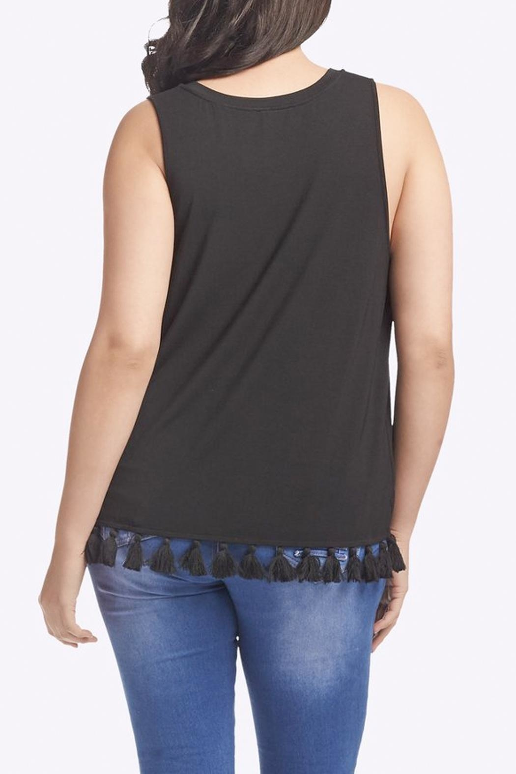 Tart Collections Emory Fringe Top - Side Cropped Image