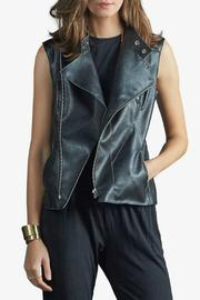 Tart Collections Faux Leather Vest - Product Mini Image