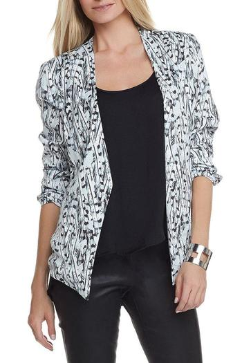 Shoptiques Product: Gaby Printed Blazer - main