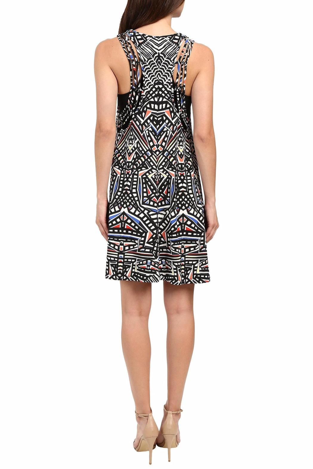 Tart Collections Geometric Swing Dress - Side Cropped Image