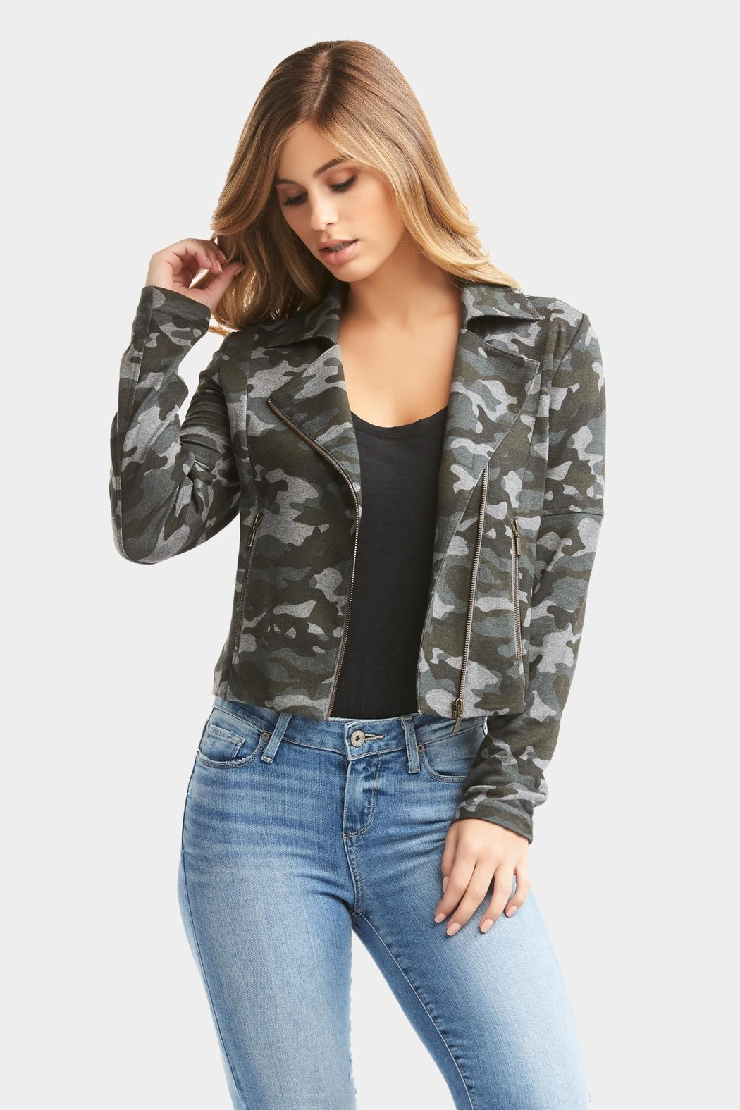Tart Collections Gracia Camo Jacket - Front Full Image